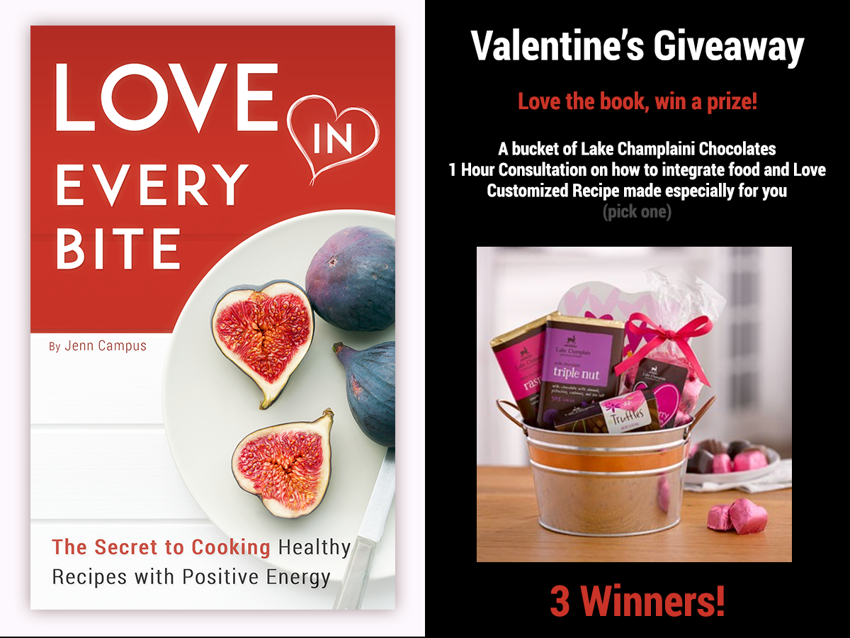 Love in Every Bite Valentine's Giveaway