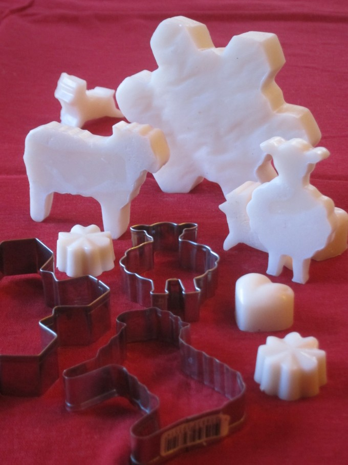 DIY Soap_ Cookie Cutter Soap