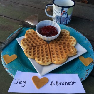 Jeg Elsker Brunost (I love {Norwegian} brown cheese)