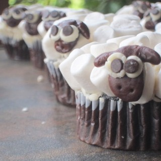 Sheep Birthday Party Cupcakes and The Joy of Plan B