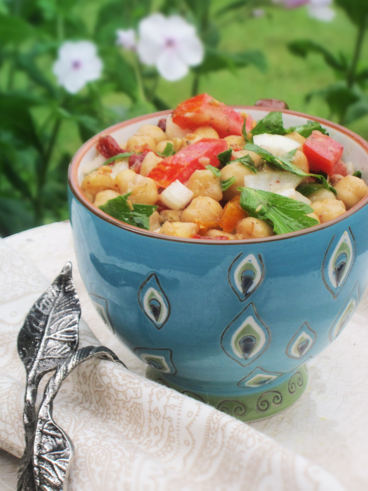 The Best Balela Mediterranean Chickpea Salad