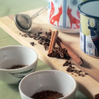 Spicy Chaga Chai Tea