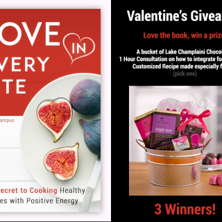 Love in Every Bite: Decadent Brownies with Cherries and a Valentine's Giveaway for My Readers!