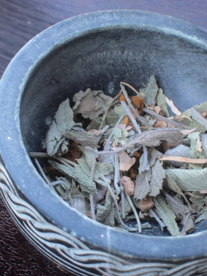 Cernunnos Tea Blend #sage #birch #chaga