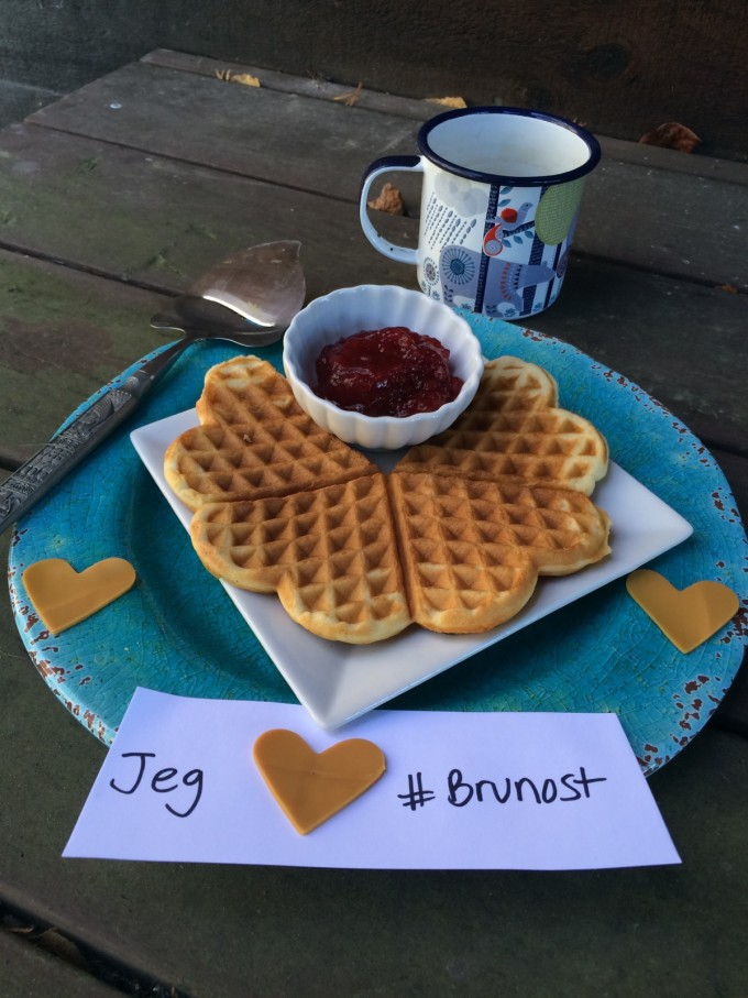 Jeg Elsker Brunost (I Love {Norwegian} Brown Cheese