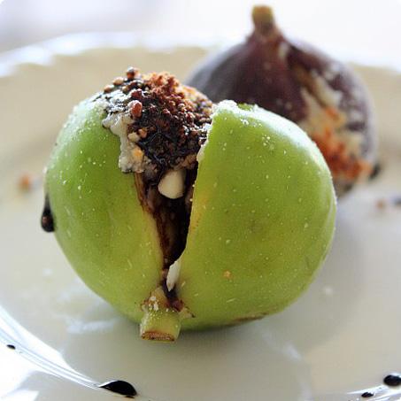 Parmesan Stuffed Figs