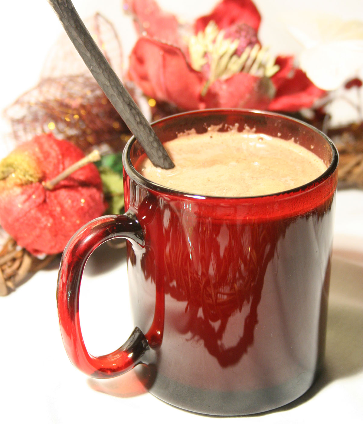 Spicy Mayan Hot Chocolate